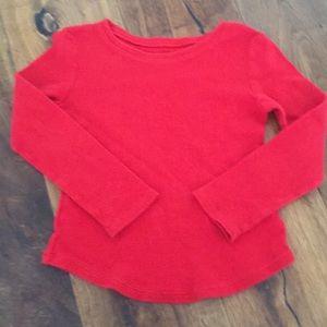 Old Navy Toddler Girls Thermal T-shirt